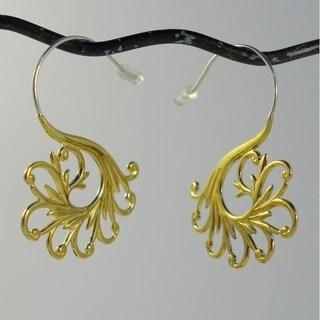 Tribal Maori Swirls Hook Earrings by Spirit Tribal Fusion
