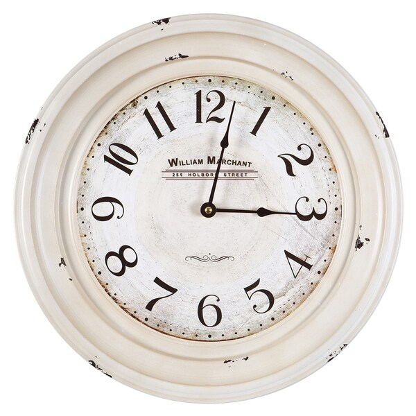 Marchant Rustic Wall Clock. Opens flyout.