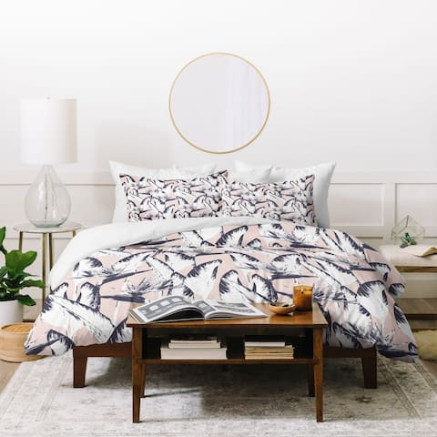 Marta Barragan Camarasa Botanical Bird of Paradise Duvet Cover Set