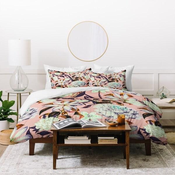 Marta Barragan Camarasa Floral Vintage Blooms Duvet Cover Set