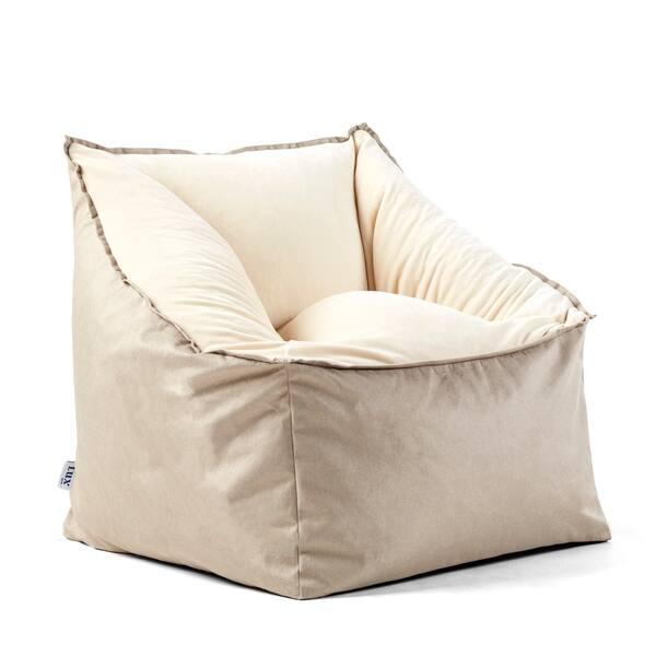 Stupendous Shop Big Joe Slalom Bean Bag Chair Lenox Plush Spandex Pabps2019 Chair Design Images Pabps2019Com