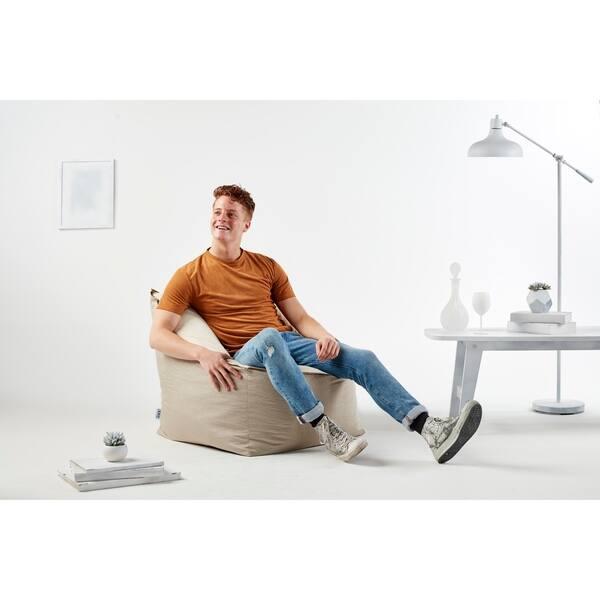 Fabulous Shop Big Joe Slalom Bean Bag Chair Lenox Plush Spandex Pabps2019 Chair Design Images Pabps2019Com