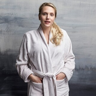 Plush Waffle Robe with Pockets