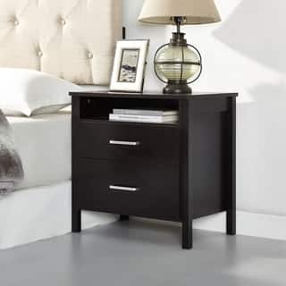 Hudson Collection 2 Drawer Night Stand