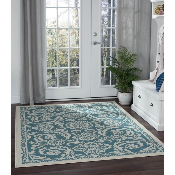Alise Rugs Garden Town Transitional Oriental Area Rug - 5'3 x 7'3