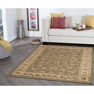 Alise Rugs Rhythm Traditional Oriental Area Rug - 5' x 7'