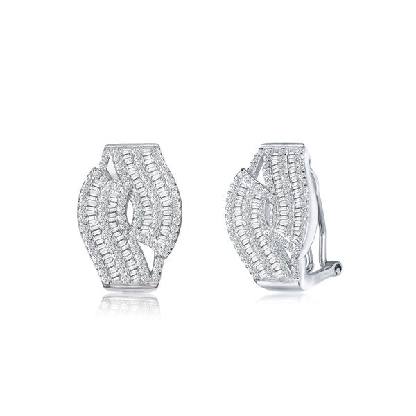 Collette Z Sterling Silver Clip Earrings