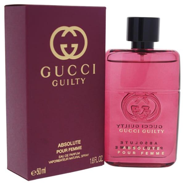 3ceda99ce Shop Gucci Guilty Absolute Women's 1.6-ounce Eau de Parfum Spray - Free  Shipping Today - Overstock - 21487714