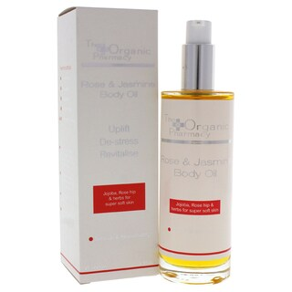 The Organic Pharmacy 3.3-ounce Rose & Jasmine Body Oil