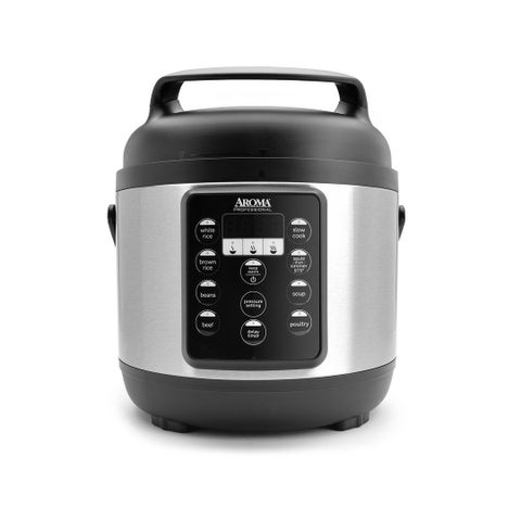 Aroma APC-816SB Professional 3.5-Qt. Digital Pressure Cooker