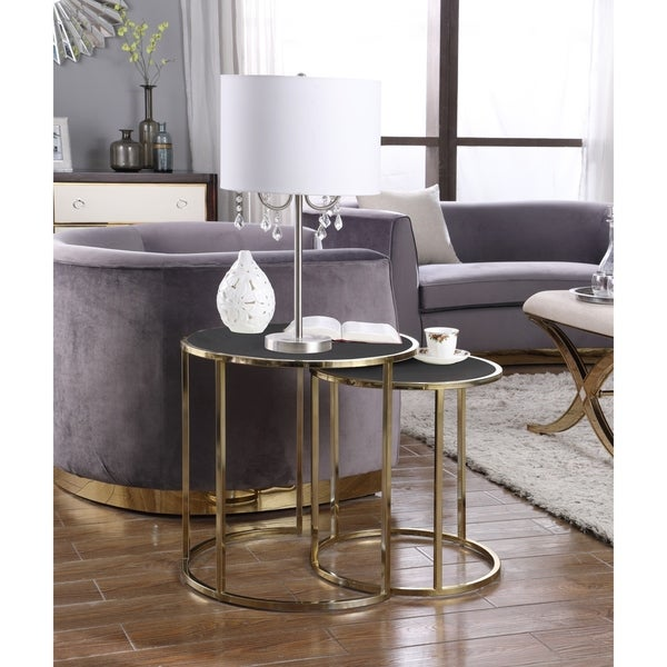 Chic Home Olivia Nightstand Side Table 2 Piece Set. Opens flyout.