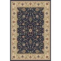 Concord Global Williams Ottoman Navy Area Rug - 7'10 x 10'10