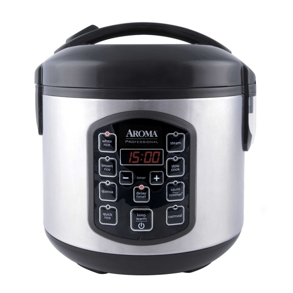 Shop Aroma Arc-954sbd 8-cup  Cooked  Digital Rice Cooker - Overstock
