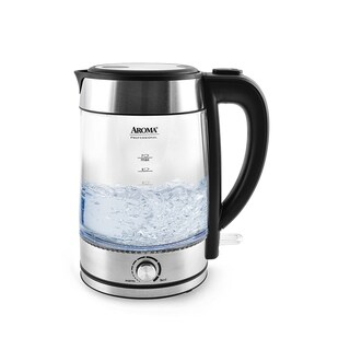 Aroma AWK-165M 1.7-Liter Stainless Steel Electric Kettle
