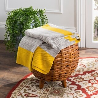 "Safavieh Sun Kissed Knit Throw Blanket - 50"" x 60"""