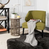 "Safavieh Haven Grey Knit 50 x 60-inch Throw Blanket - 50"" x 60"""