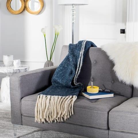 Safavieh Selita Blue 50 x 70-inch Throw Blanket