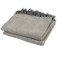 "Safavieh Amanda Grey Throw Blanket - 50"" x 70"""