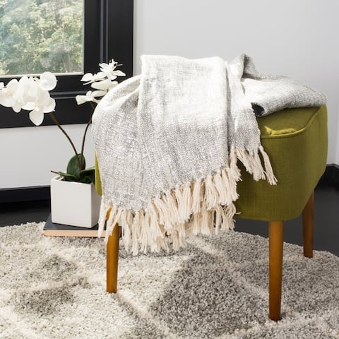 Safavieh Jacqui Metallic Throw Blanket