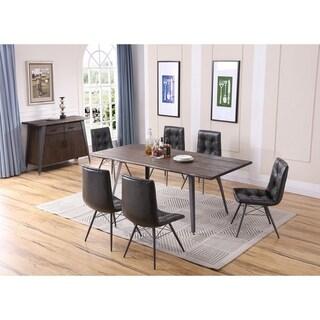 Best Master Furniture Antique Brown 5 Pieces Rectangular Dining Set