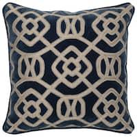 Kosas Home Leeds 100% Cotton 22-inch Throw Pillow