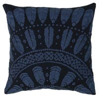 Kosas Home Oswego 100 Cotton 18-inch Throw Pillow