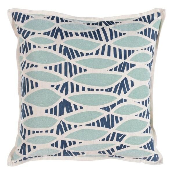 Catalina Beaded 18 Throw Pillow By Kosas Home Sea Green