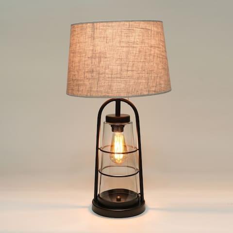 Arstill 2-Light Antique Bronze Table Lamp