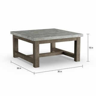 Carbon Loft Niepce Chic Square Coffee Table