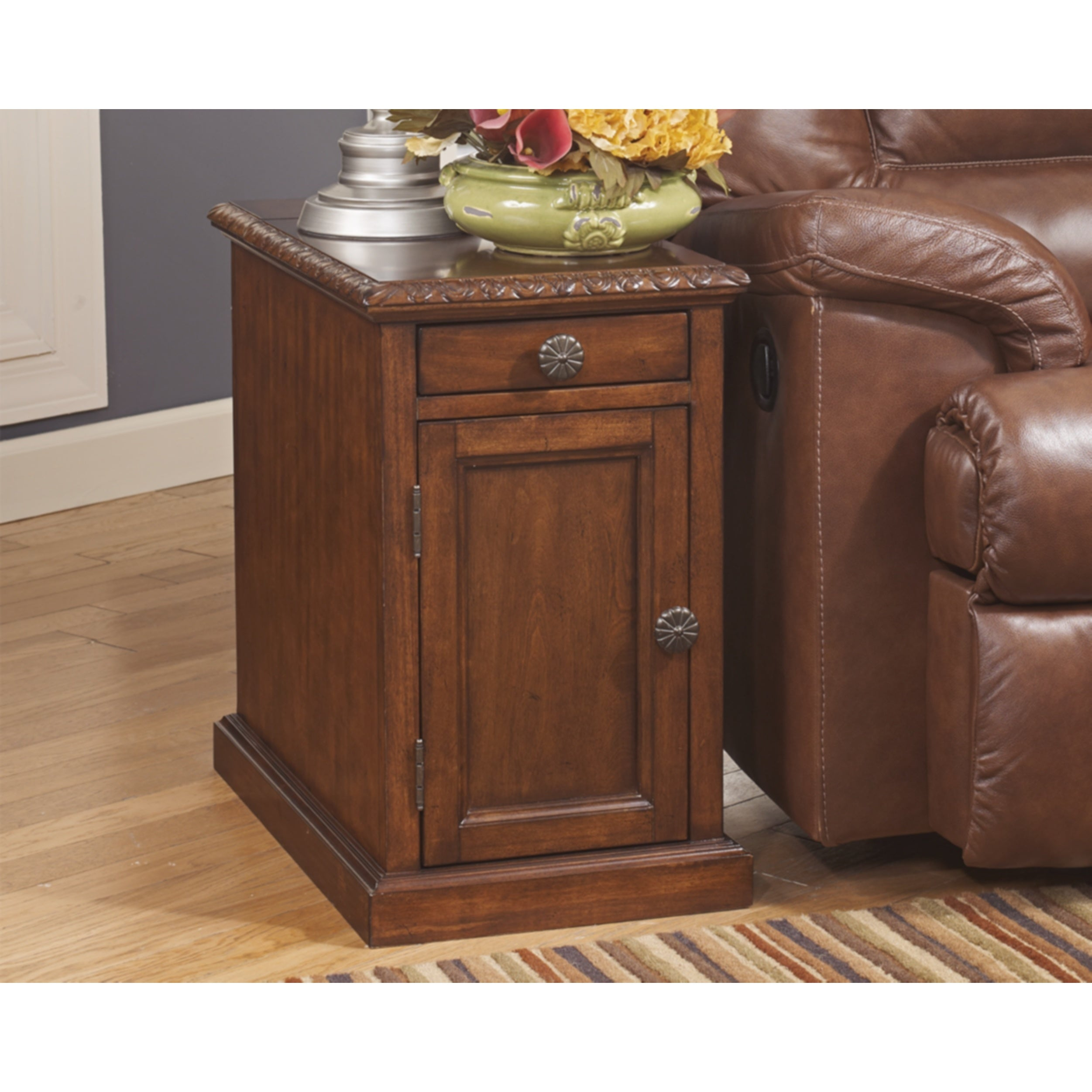 Shop Copper Grove Morvan Chairside End Table Overstock 21490191