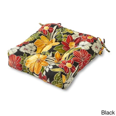 San Elijo Tropical Pattern 20-inch Outdoor Chair Cushion by Havenside Home
