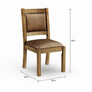 Carbon Loft Routt Rustic Pine Dining Chair (Set of 2)