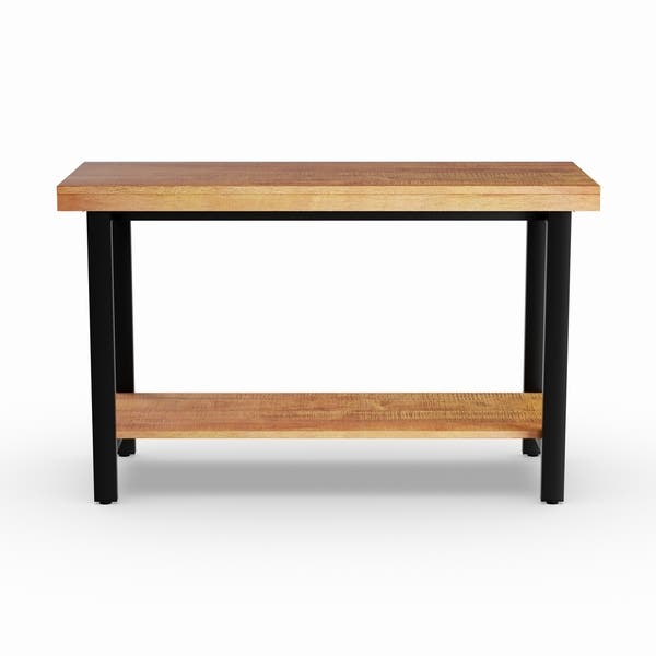 Amazing Shop Carbon Loft Maxwell Industrial Sofa Table Tv Stand On Andrewgaddart Wooden Chair Designs For Living Room Andrewgaddartcom