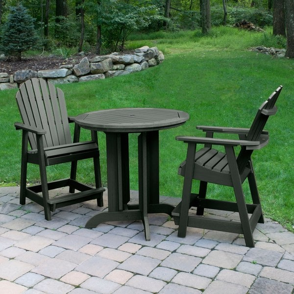 Havenside Home Mandalay Eco-friendly 3-piece Outdoor Dining Set