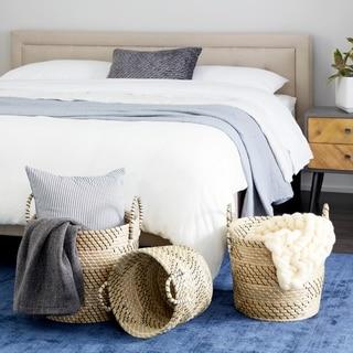 The Gray Barn Echo Lodge Bowl Shaped Sea Grass Basket (Set of 3)