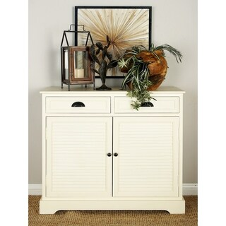 Havenside Home Asilomar Natural White Wood Sideboard