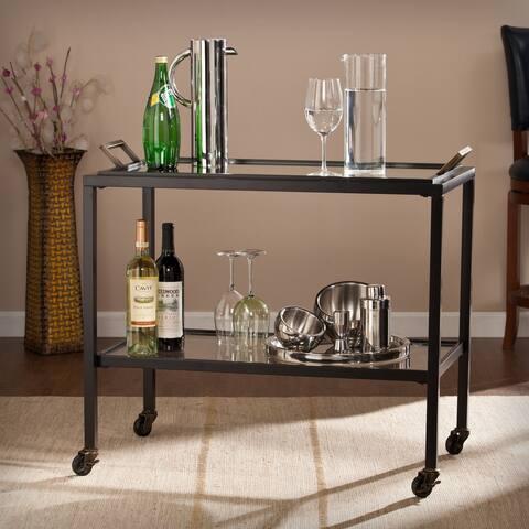 Carbon Loft Ochoa Bar Cart with Removable Tray