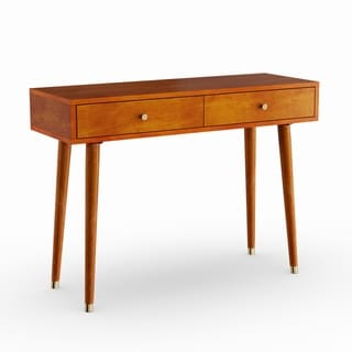 Carson Carrington Steinkjer Mid-century Console Table
