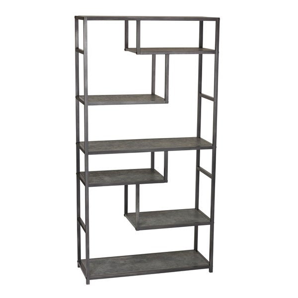 Carbon Loft Torvalds Faux Slate Tall Open Wall Unit Bookcase