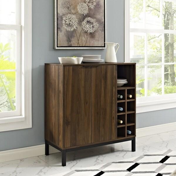 Shop Carson Carrington Trosa Bar Cabinet N A Free Shipping Today