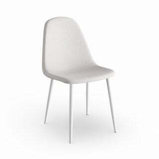 Carson Carrington Riihimaki Grey/White 4-piece Dining Chair Set
