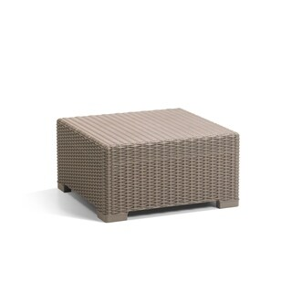 Clay Alder Home Amelia All-Weather Resin Outdoor Patio Coffee Table