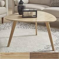 Palm Canyon Marshall Mid-century Triangular Wood Coffee Table