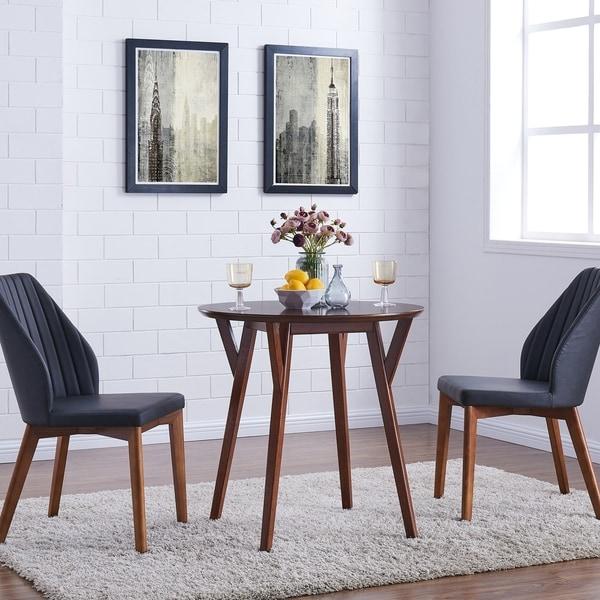 Dining Tables For Sale Cheap: Shop Carson Carrington Kaskinen Round Dark Sienna Brown