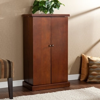 Copper Grove Blanchet Walnut Fold-away Bar