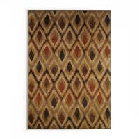 "Pine Canopy Okanogan Gold and Beige Area Rug - 9'10"" X 12'10"""