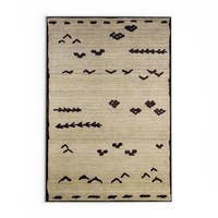 Pine Canopy Chequamegon Tribal Ivory/ Brown Area Rug - 9'9 x 12'2