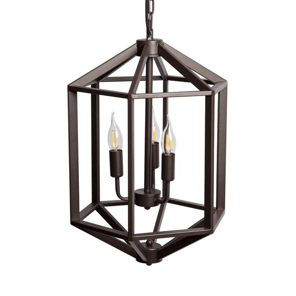 3-Light Cage Pendant
