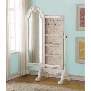 Princess Jewelry Armoire, Pearl White