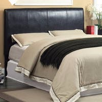 Twin Size Bed Headboard, Espresso Brown